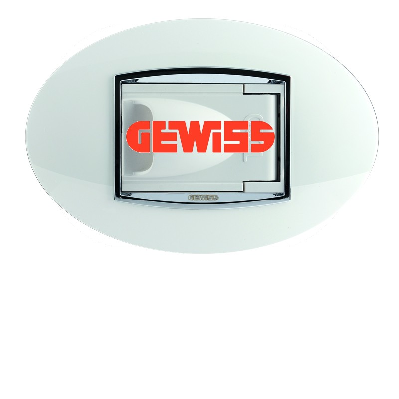 Kompatibel mit GEWISS Elektroplatten