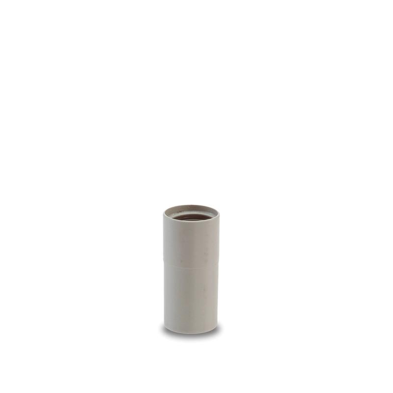 Coppia tubi cromati di prolunga /Ø 32