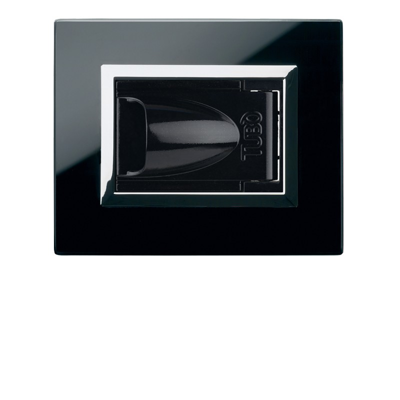 Glossy black Normal opening